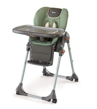 Chicco Polly Highchair Double Pad In Adventure